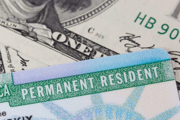 USA Permanent Resident card